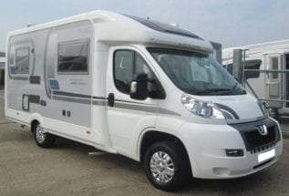 Used Auto Sleeper Broadway EB 2012