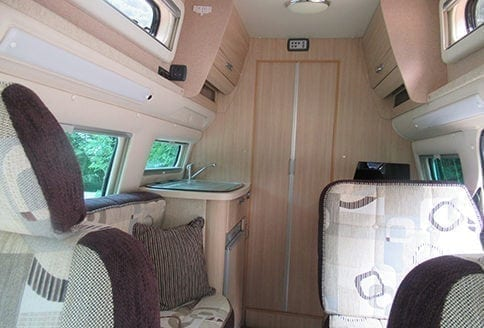 Auto-Sleeper Topaz 2015 kitchen