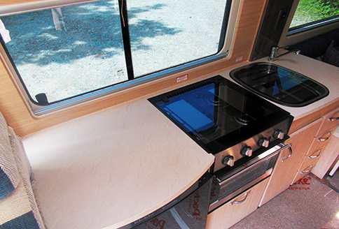 Auto-Sleeper Warwick Duo Kitchen