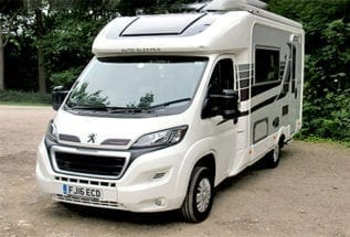 Used Auto-Sleeper Broadway EK TB LP
