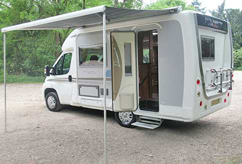 Used Auto-Sleeper Nuevo EK 2013 Awning-Side-View