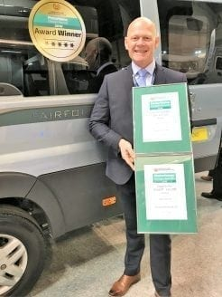 Auto-Sleeper Motorhomes Awards
