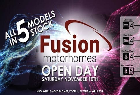 Nick Whale Motorhomes McLouis Fusion Event